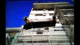 """Izajes subida muebles por balcón es ,bajar """" Tonyy """" quilmes bernal avellaneda Berazategui toda zona sur"""