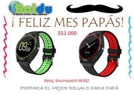 Reloj Smartwatch W302 Cámara Bluetooth Sim Card Y Micro Sd