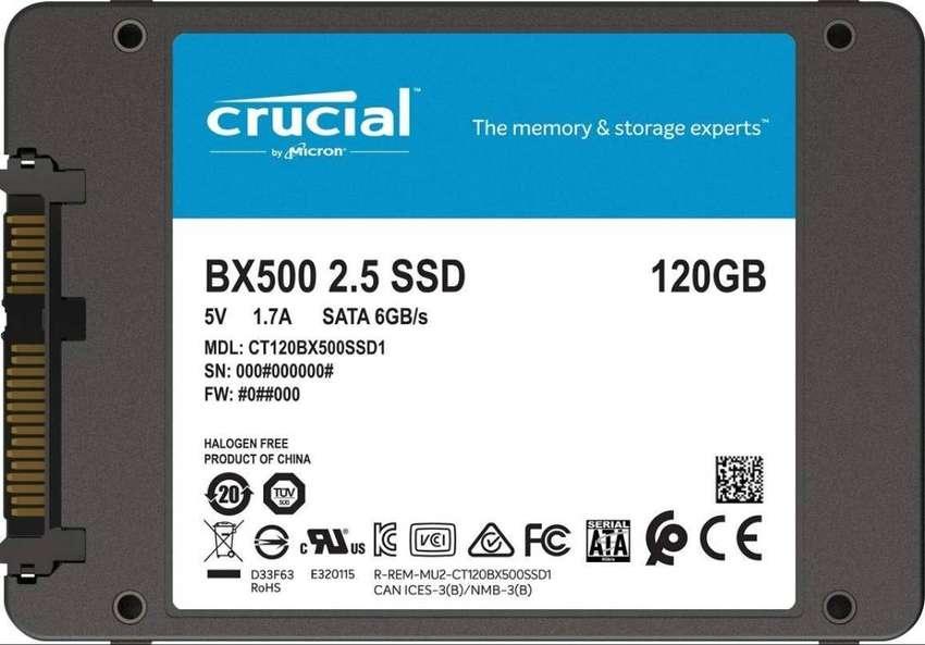 Disco duro estado solido ssd 120 GB 0