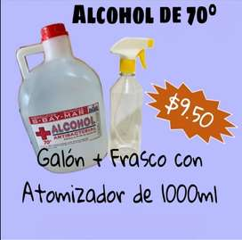 Alcohol antiseptico Galon