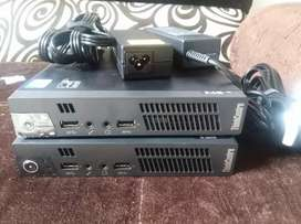 2 Lenovo mini thinkcentre m92p core i5 3th, 8gb en ram,