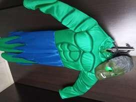 Disfraz de hulk