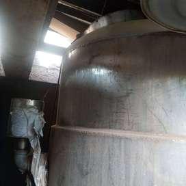 Tanque evaporador, reciclaje solventes, condensador 55 galones