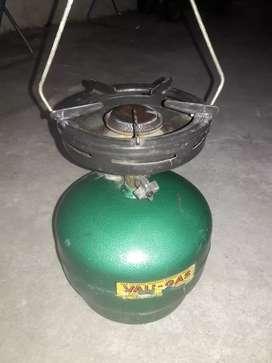 Garrafa de  2 kg con quemador