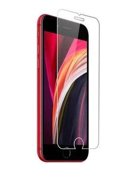 Vidrio Templado iPhone 6 6s 7 plus 8 plus 6 plus 8 Y Se 2020 Transparente Duro