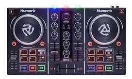 Controlador DJ Numark Party mix controlador DJ