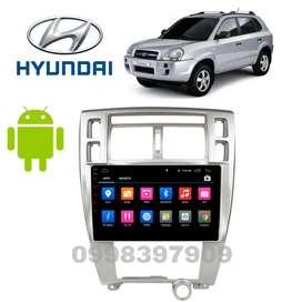 "Radio Android 10"" hyundai tucson 2006 Original WiFi GPS"