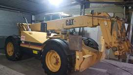 Caterpillar th 83 telescopic handler 4x4 turbo