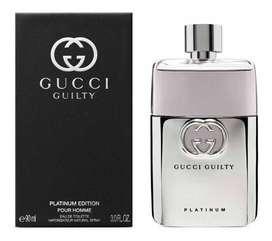 Perfume Gucci Guilty Platinum Edition 90ml Hombre Eros