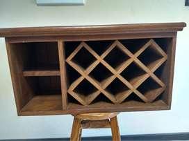 Bodega para vinos de algarrobo
