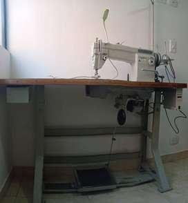 Maquina de cocer plana mitsubishi con motor electrònico ahorrador