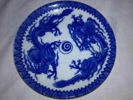 Plato de Porcelana Japonesa