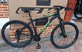 Bicicleta rin 29 gw scorpion Suspencion de bloqueo