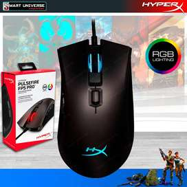 Mouse Raton Gaming Hyperx Pulsefire PRO Usb Rgb Led 6 Boton