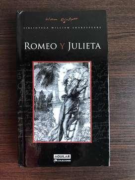 Romeo Y Julieta Willian Shakespeare. Edit.aguilar. Tapa Dura