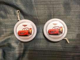 2 Yo-yo de Cars. Poco uso