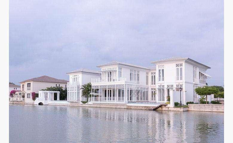 Venta de Proyecto de Casa en Urb. Lagos del Batan, cerca del C.C Plaza Lagos, Samborondon 0