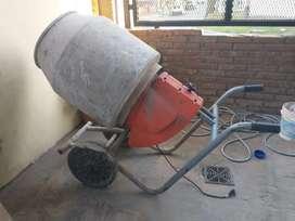 Máquina hormigonera