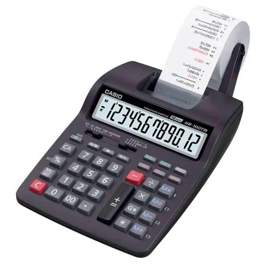 Calculadora Casio De Impresion Hr-100rc 0