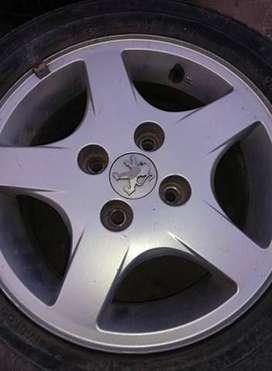 Llantas Tornade Peugeot
