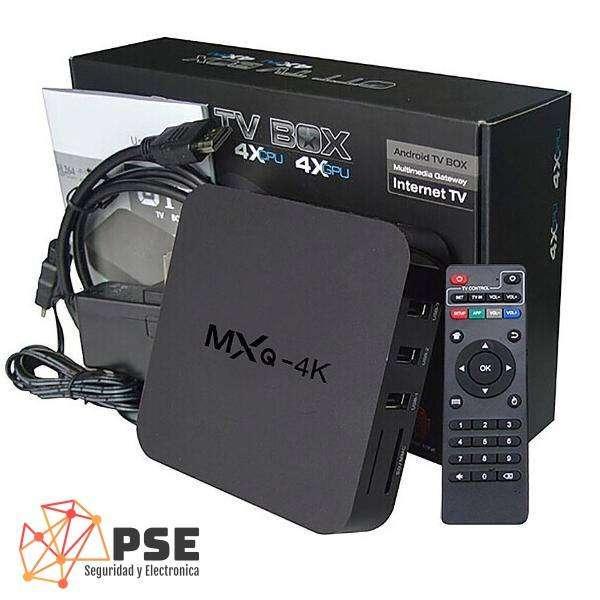 TV BOX ANDROID CONVERTIDOR SMART TV 1RAM 8GB 4K 0