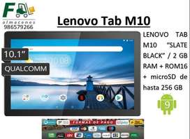 TABLET LENOVO M10 / 2gb RAM / 16gb Memoria Interna/ Expandible 256GB / Android 9
