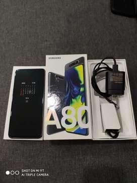 Vendo Samsung a 80 como nuevo con todos sus accesorios y caja