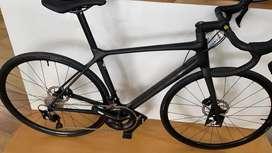 Bicicleta ruta ciclismo giant carbono