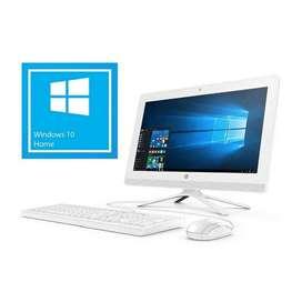 Computador HP todo en uno, RAM 4GB CORE i3 Windows 10