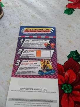 Código de Mario kart 8 deluxe