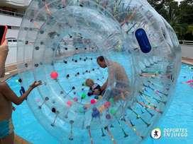 Burbuja acuatica