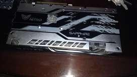 vendo o permuto 12 tarjetas de video AMD sapphire rx 580 nitro , 8gb, ddr5