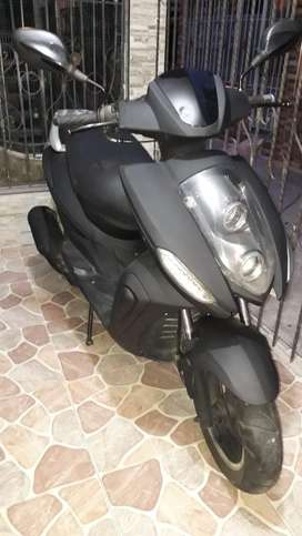 Moto scooter tongko 125 automatica negra biwis agility yamaha suzuki