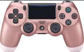 Control Ps4 Dualshock 4 Rosado Gold Ps4 2da Generacion