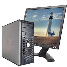 Equipo empresarial marca Dell ideal para trabajo pesado
