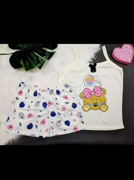 Vendo hermosas pijamas de short y camisas de tiras