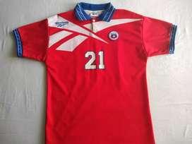 Camiseta original de la selección de Chile