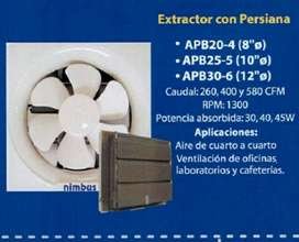 Extractor de Aire cod 6868