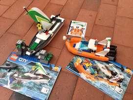 Lego city rescate de velero