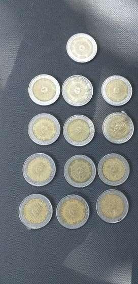 Monedas mal impresa  provingias