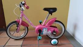 Bicicleta Btwin 14 pulgadas
