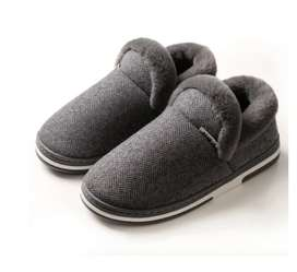 Zapatos De Algodón Antideslizante Para Hombre Y Mujer