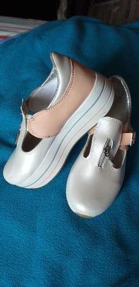 Zapatos Plataforma para Mujer O Niña
