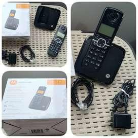 Teléfono Motorola Inalámbrico