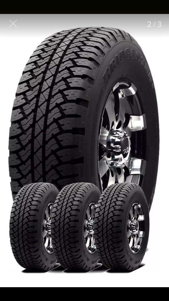 4x Bridgestone Dueler At693iii 265 65 17 0