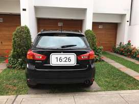 Camioneta ASX Mitsubishi, Negra, 2014, 23600 Km, full equipo, uso particular dama, motor 2000, mecánica, 5 puertas..