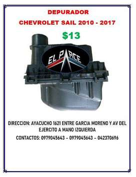 DEPURADOR AIRE RESONADOR AVEO ACTIVO CHEVYTAXI FAMILY EMOTION SAIL