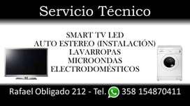 Servicio Técnico Smart-Tv-Led-Lavarropas