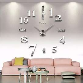 Hermoso reloj de pared con pegatina para decorar