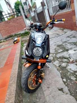 Vendo moto bws en muy buen estdo